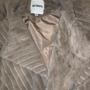 BB Dakota Jackets & Coats - BB DAKOTA faux fur jacket